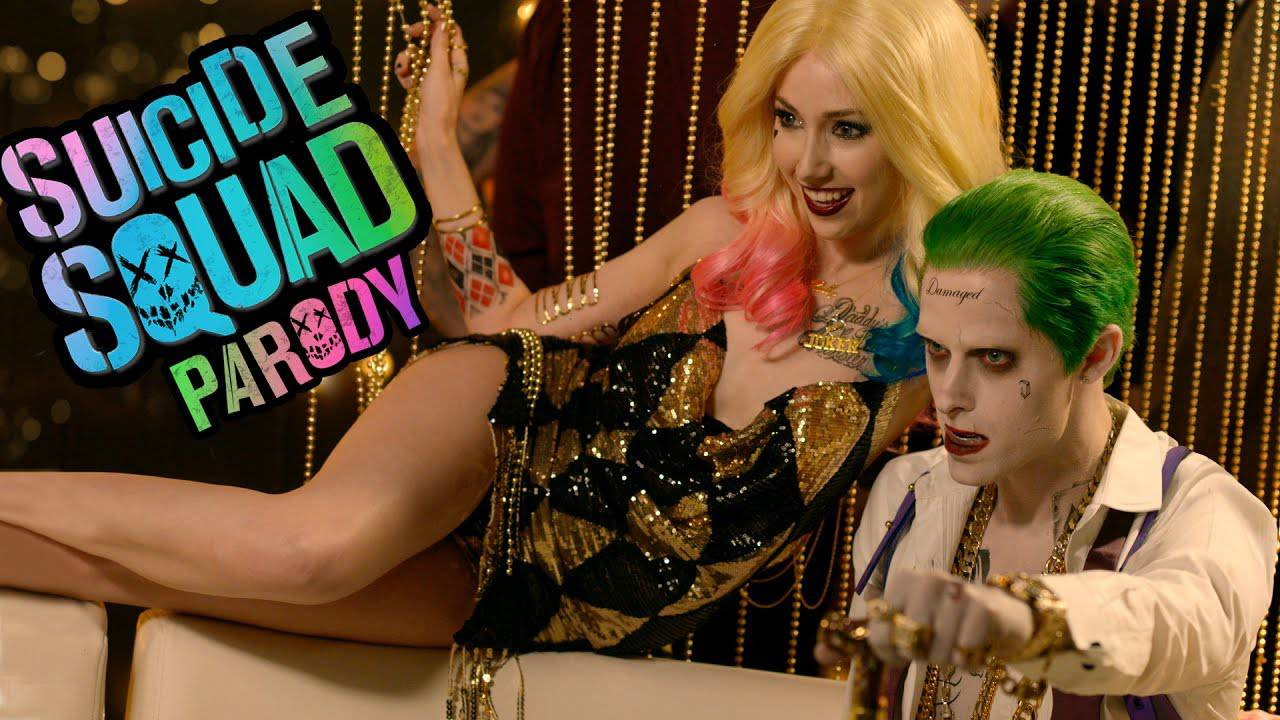 hillywood show suicide squad parody