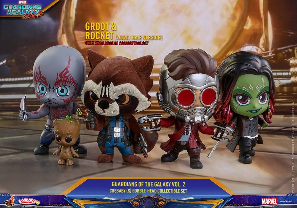 Hot Toys - GOTG vol 2 - Collectible-Set PR4