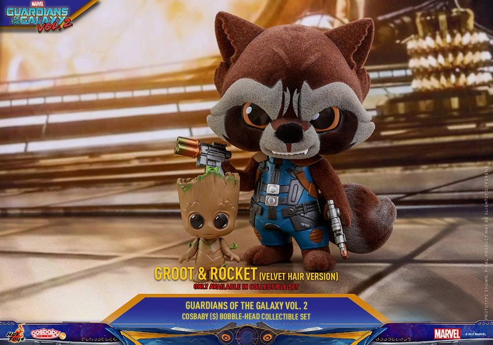Hot Toys - GOTG vol 2 - Collectible-Set PR5 (only available in set)