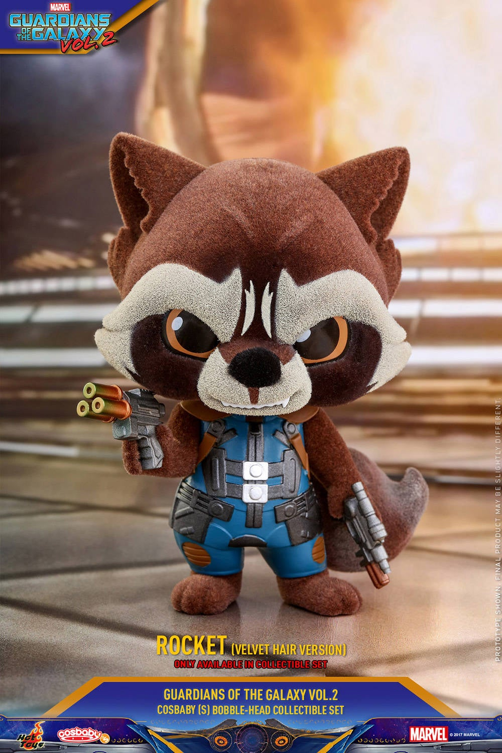 Hot Toys - GOTG vol 2 - Collectible-Set PR6 (only available in set)