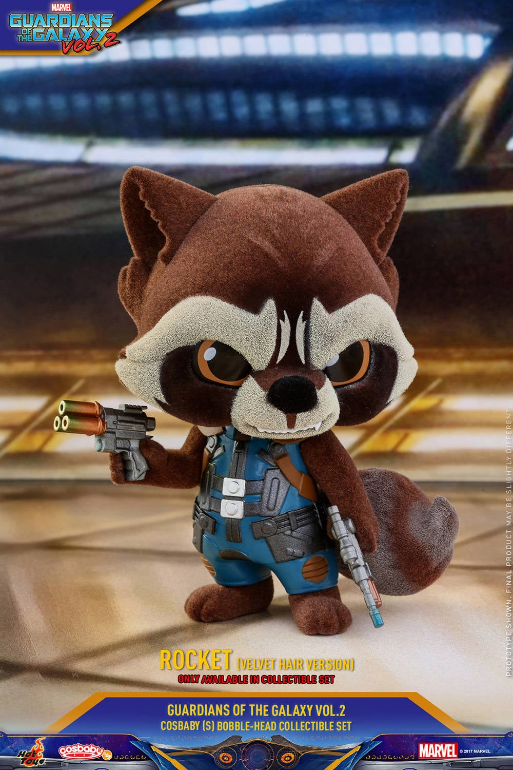Hot Toys - GOTG vol 2 - Collectible-Set PR7 (only available in set)
