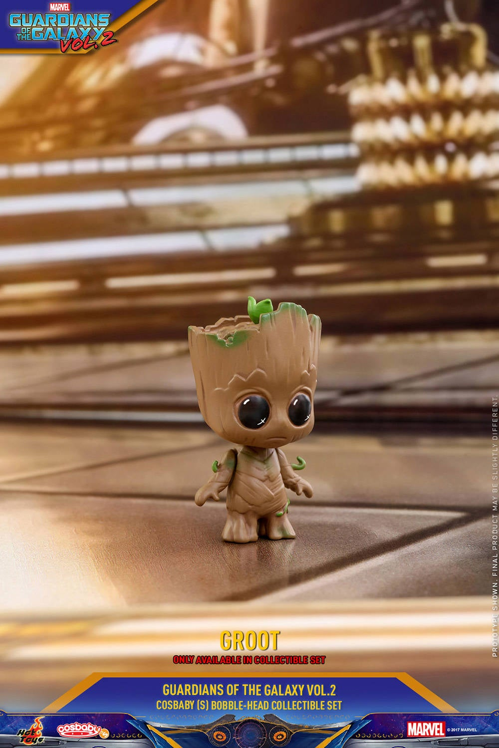 Hot Toys - GOTG vol 2 - Collectible-Set PR9 (only available in set)