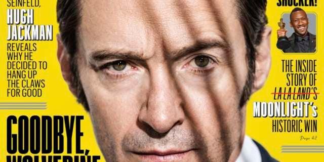 Hugh Jackman Wolverine 3 EW Cover Logan