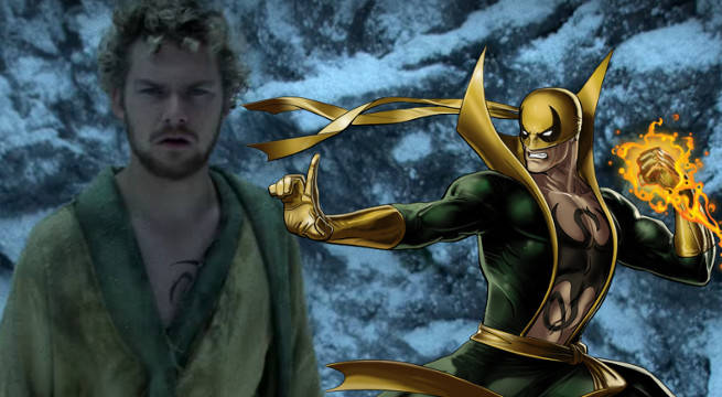 iron fist won't have costume netflix defenders