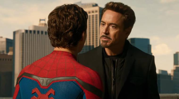 Iron Man Spider-Man Homecoming