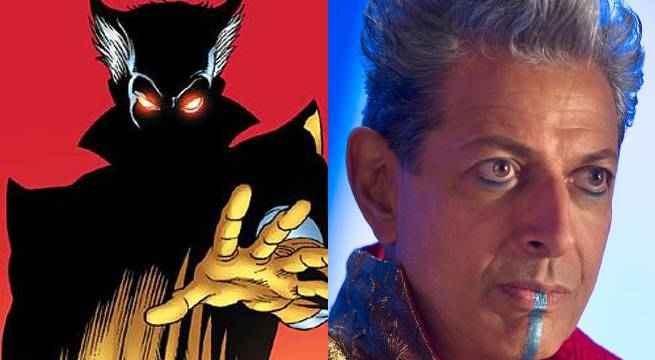 Why Jeff Goldblum's Grandmaster Isn't Blue in Thor: Ragnarok