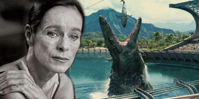 jurassic world 2 geraldine chaplin cast director ja bayona