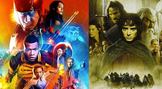 legends of tomorrow lord of the rings