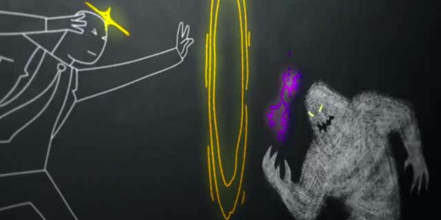 Legion Episode Chapter 7 Prof. X vs Shadow King Scene 8