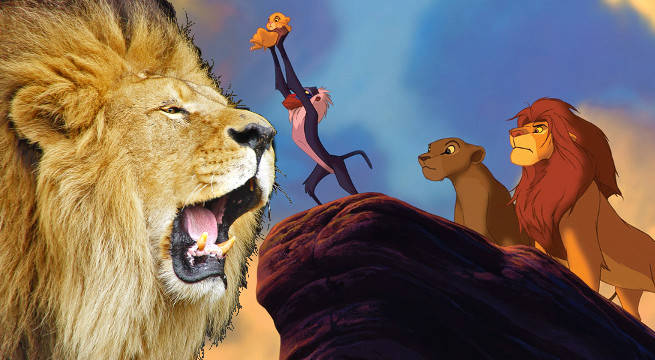 lion king live action begins production may