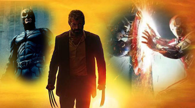 Logan No 2 Comic book superhero movie all time