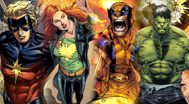 marvel generations dead characters resurrected jean grey captain marvel wolverine hulk