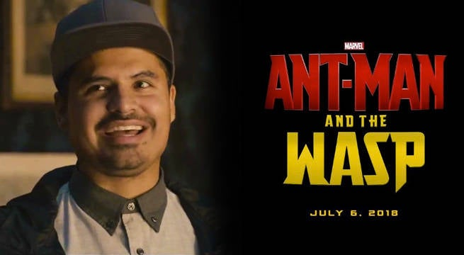 Michael Pena Says He's Got A Role In Ant-Man And The Wasp