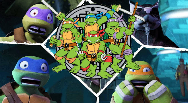 New Teenage Mutant Ninja Turtles Cartoon Reboot Nickelodeon