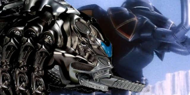 Power Rangers 2017 Black Ranger Mastodon Zord