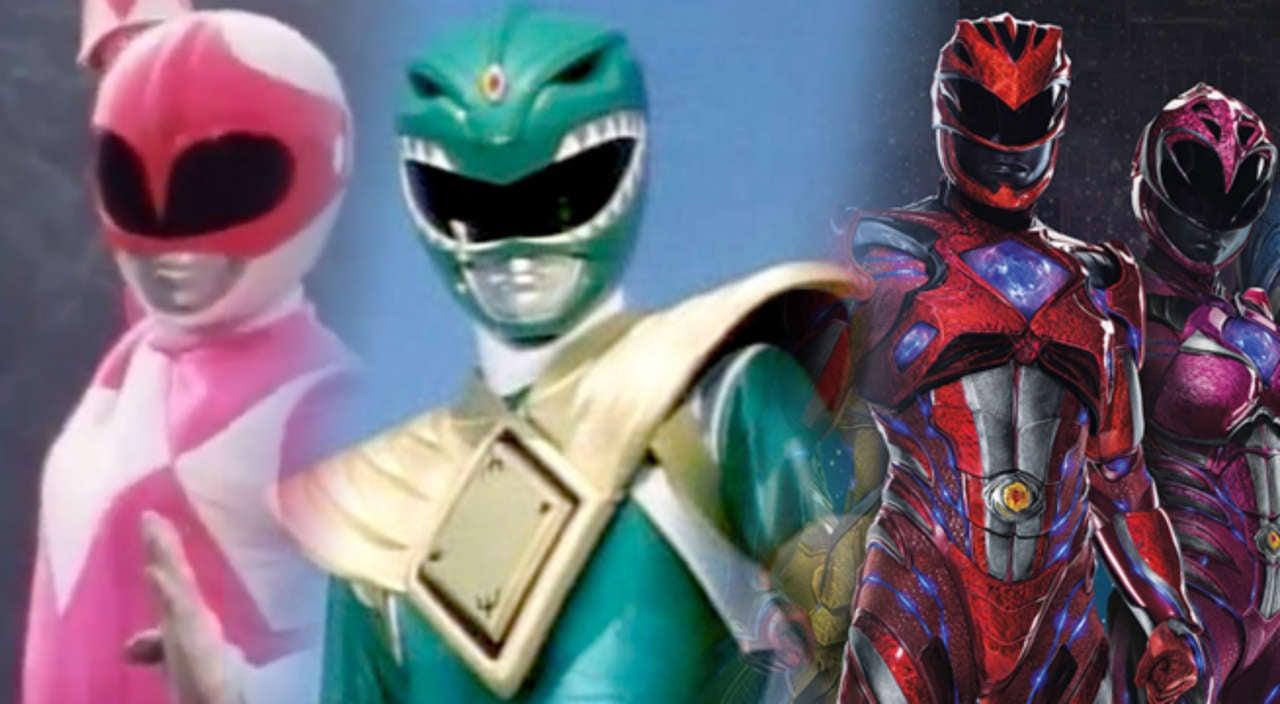 power rangers the original pink and green ranger reunited