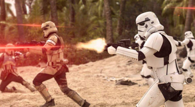 rogue one star wars director gareth edwards reveals ending change reshoots deleted scenes