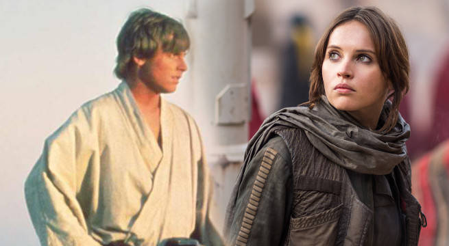 rogue one star wars writer comparison to a new hope