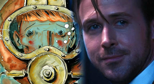 ryan gosling underwater welder jeff lemire film adaptation