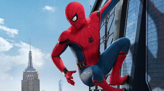 Spider-Man Homecoming International Header
