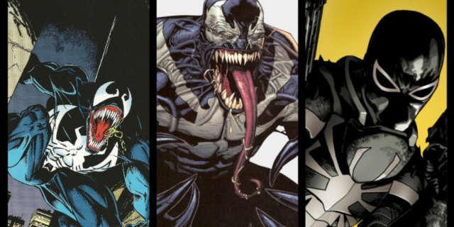 Versions of Venom Hosts Brock Gargan Thompson