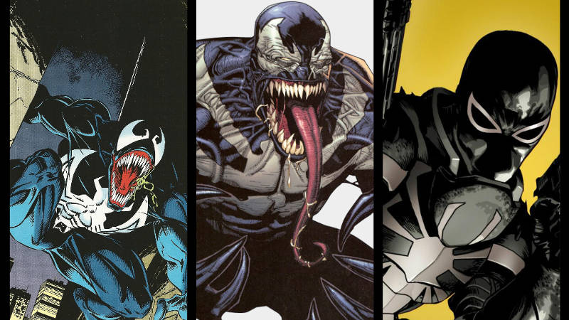 Versions of Venom Hosts Brock Gargan Thompson