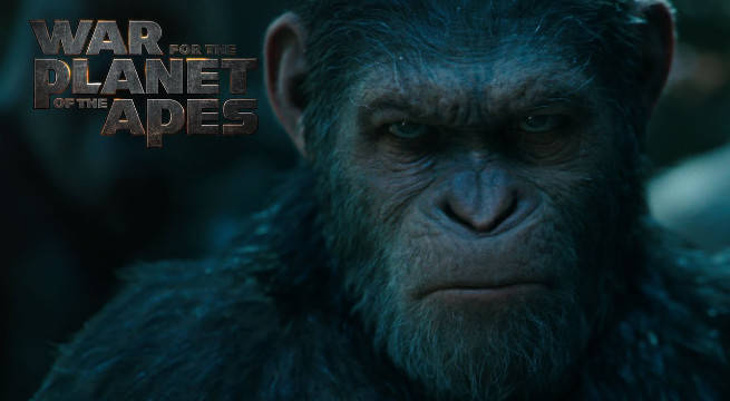 war for the planet of the apes movie header