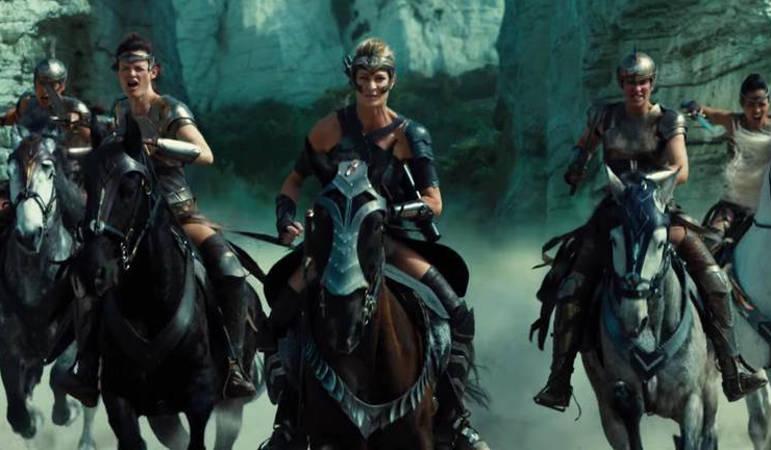 Wonder Woman DCEU origin story Amazons Themyscira