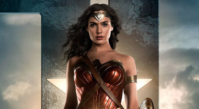 wonder woman justice league poster header
