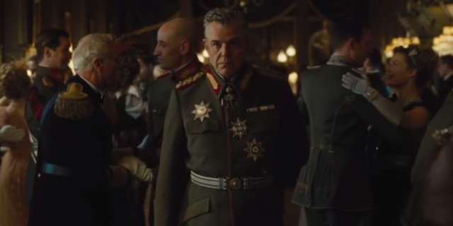 Wonder Woman Movie Villains Danny Huston is Ares
