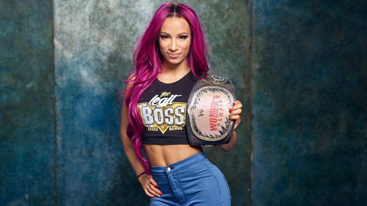 db3d600fa The Many Looks Of Sasha Banks