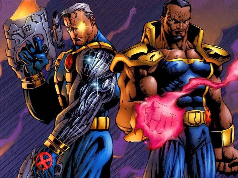 X-Men Cable vs Bishop Movie