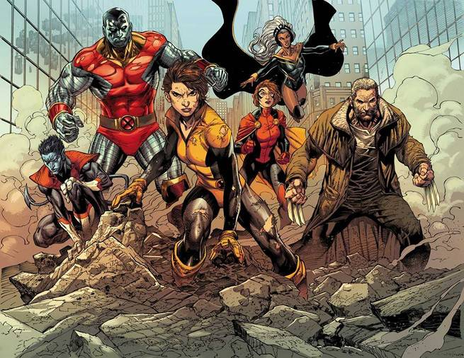 X-Men Gold Team