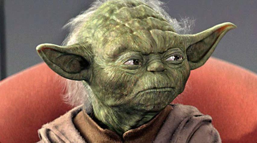 Yoda CGI Star Wars