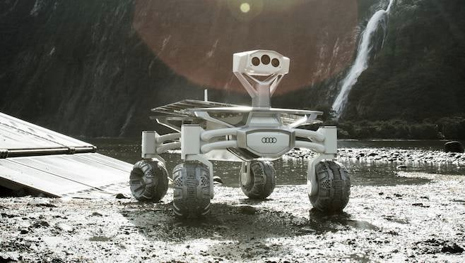 Audi Moon Rover Alien Covenant To Space