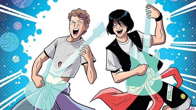 Bill & Ted Save the Universe Is Coming This Summer From BOOM! Studios