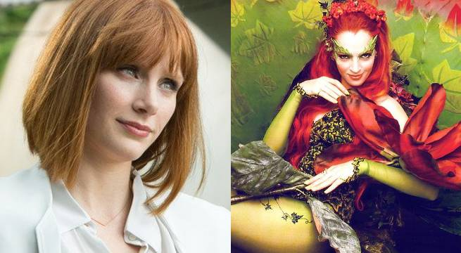 Gotham City Sirens: Bryce Dallas Howard Interested In Playing Poison Ivy