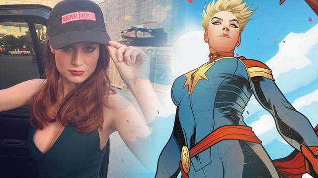 Brie Larson Reveals Why She's Playing Captain Marvel
