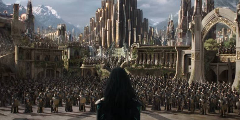 Cate Blanchette Hela Thor Ragnarok 2