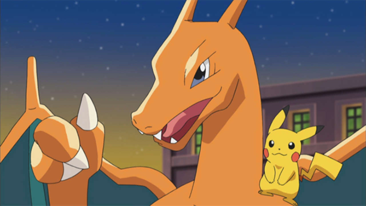 is ash s charizard appearing in the new pokemon movie