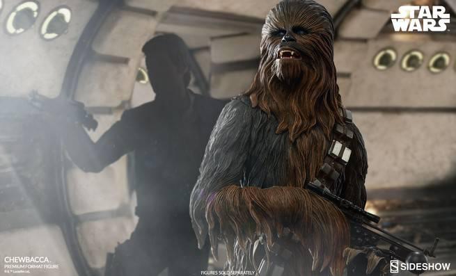 Sideshow Unveils Chewbacca Premium Format Figure