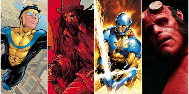 comic heroes xo hellboy