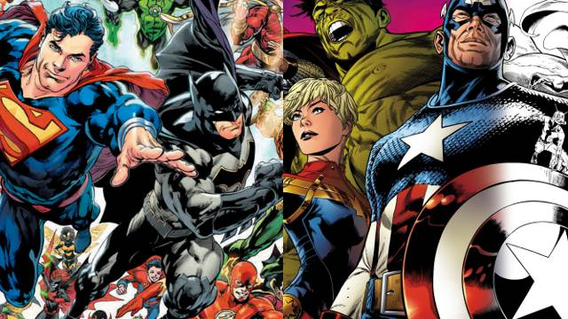 DC Rebirth Marvel Legacy