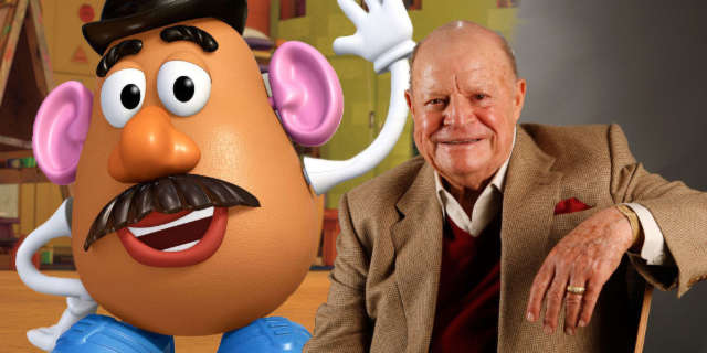 don rickles no dialogue recorded toy story 4 mr potato head