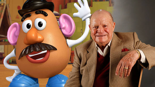 don rickles no dialogue recorded toy story 4 mr potato head