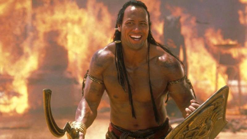 Dwayne Rock Johnson in Scorpion King