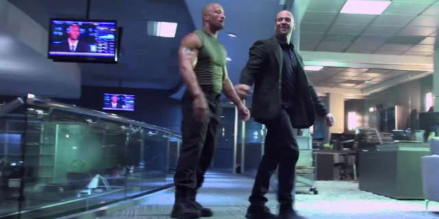 Dwayne The Rock Johnson Hypes Fast and Furious Spinoff Film with Statham