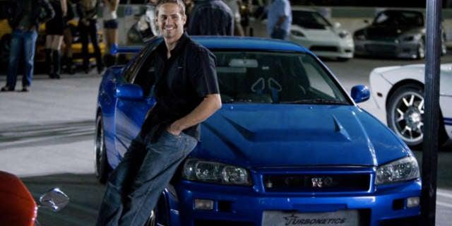 Fate of Furious 8 Easter Eggs - Paul Walker Scott Eastwood Blue Cars