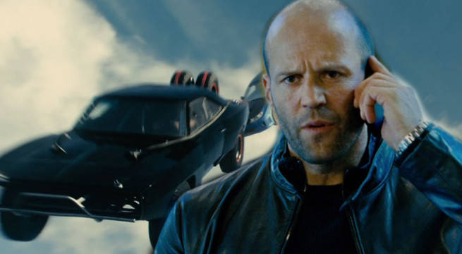 fate of the furious jason statham plane scene ridiculous