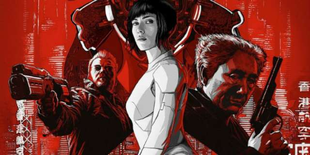 Ghost in the Shell International Poster